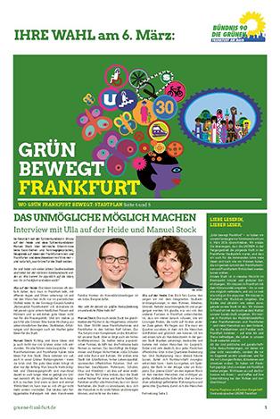 Wahlkampfzeitung